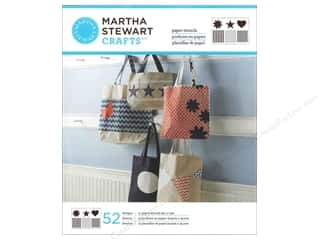 patterned paper: Martha Stewart Stencils by Plaid Paper Pattern & Shape