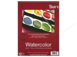 Experiment, The: Darice Studio 71 Watercolor Pad 9 x 12 in. 140 lb. Cold Press