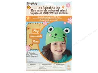 Weekly Specials Simplicity: Simplicity My Animal Hat Kit Frog