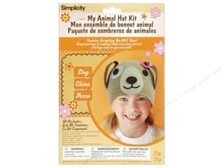 Weekly Specials Boye: Simplicity My Animal Hat Kit Dog