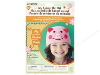 Weekly Specials Simplicity: Simplicity My Animal Hat Kit Pig