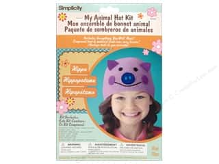 Weekly Specials Boye: Simplicity My Animal Hat Kit Hippo