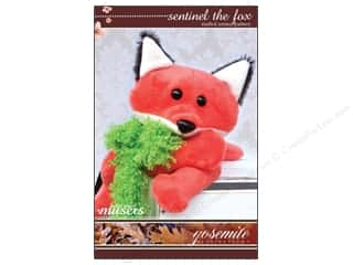 Mckay Manor Musers Stuffed Animal Sentinel The Fox Pattern