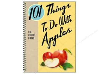 Cookbooks: Gibbs-Smith 101 Things To Do With Apples Book