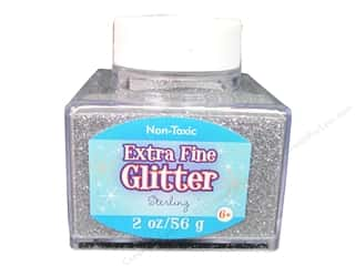 craft & hobbies: Sulyn Extra Fine Glitter 2 oz. Sterling