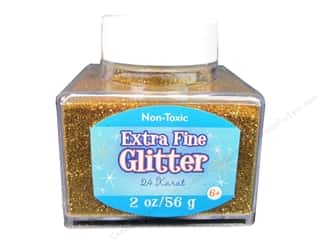 craft & hobbies: Sulyn Extra Fine Glitter 2 oz. 24 Karat Gold