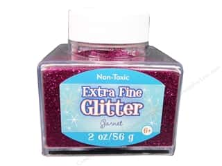 craft & hobbies: Sulyn Extra Fine Glitter 2 oz. Garnet