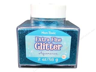 craft & hobbies: Sulyn Extra Fine Glitter 2 oz. Aquamarine