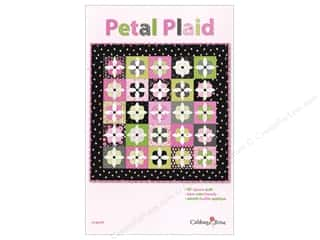 Cabbage Rose Petal Plaid Pattern
