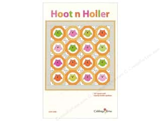books & patterns: Cabbage Rose Hoot n Holler Pattern