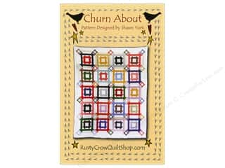 Clearance: Rusty Crow Quilt Shop Churn About Pattern