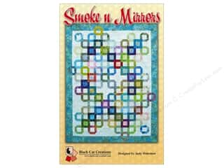 square mirror: Black Cat Creations Smoke 'n Mirrors Pattern