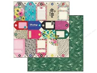 Crate Paper 12 x 12 in. Paper On Trend Tag Cuts