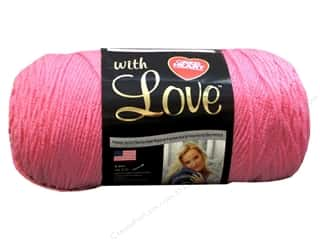 yarn: Red Heart With Love Yarn 370 yd. #1704 Bubblegum