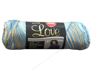 yarn: Red Heart With Love Yarn 230 yd. #1938 Beachy
