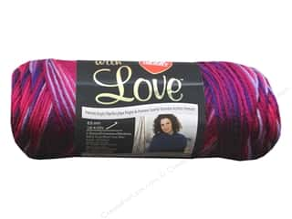 yarn & needlework: Red Heart With Love Yarn 230 yd. #1942 Plum Jam