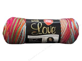 yarn & needlework: Red Heart With Love Yarn 230 yd. #1944 Fruit Punch