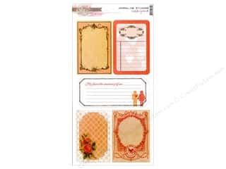 scrapbooking & paper crafts: Glitz Design Sticker Cardstock Hello Friend Journ