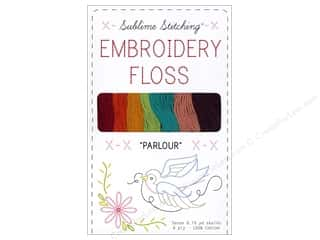 Sublime Stitching: Sublime Stitching Floss Pack Six Ply Parlour 7pc