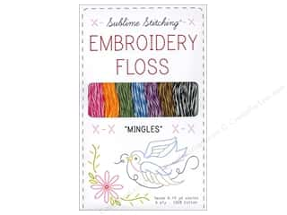 Sublime Stitching: Sublime Stitching Floss Pack Six Ply Mingles 7pc