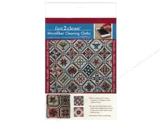 Weekly Specials C & T Publishing: C&T Publishing Fast2Clean Microfiber Cleaning Cloths - Civil War Sampler Quilt