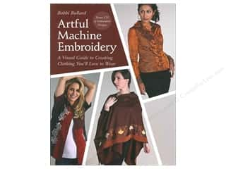 Computer Software / CD / DVD: C&T Publishing Artful Machine Embroidery Book by Bobbi Bullard