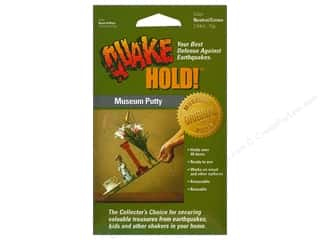 glues, adhesives & tapes: Quake Hold Ready America Museum Putty 2.64 oz Neutral/Creme