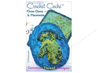 Common Thread Designs Crochet Cache Oven Glove & Placemats