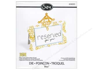 Sizzix Bigz Die Place Card with Decorative Accent 1 by Dena Designs