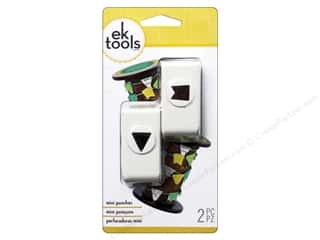 EK Paper Shapers Mini Punch Pennant Set 1/2 in.