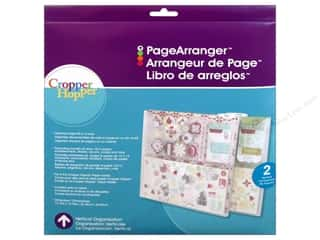 Weekly Specials Paper Accents: Cropper Hopper Vertical Organizers Page Arranger 2 pc.