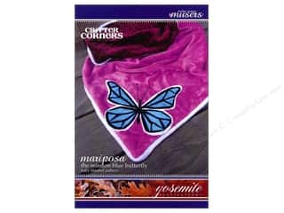 books & patterns: Mckay Manor Musers Mariposa Butterfly Blanket Pattern