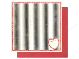 Valentines Day Gifts Paper: Authentique 12 x 12 in. Paper Lovely Collection Valentine (25 sheets)