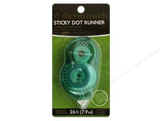 Therm O Web Permanent SuperTape : Therm O Web Sticky Dot Mini Runner 26 ft. Permanent.