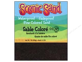 craft & hobbies: Activa Scenic Sand 1 lb. Deep Black