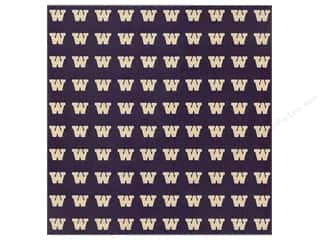 "scrapbooking & paper crafts: Sports Solution Paper 12""x 12"" Washington Purple (25 sheets)"