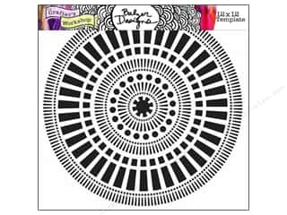 Clearance The Crafters Workshop Template: The Crafter's Workshop Template 12 x 12 in. Mayan Calendar