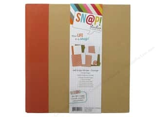 Simple Stories SN@P! Binder  6 x 8 in. Orange