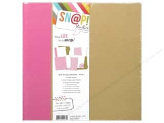 Simple Stories: Simple Stories SN@P! Binder  6 x 8 in. Pink