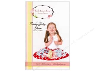 Pattern $4-$6 Clearance: Little Lizard King Twirly Girly Skirt Sizes 3M-10 Pattern