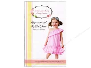 Little Lizard King Asymmetrical Ruffle Dress Sizes 6M-10 Pattern
