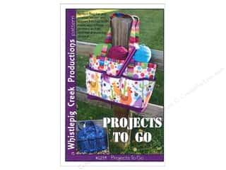 Tote Bags / Purses Patterns: Whistlepig Creek Projects To Go Pattern