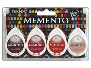 Tsukineko Memento Dye Ink Dew Drop Stamp Pad Set of 4 Arizona Canyons