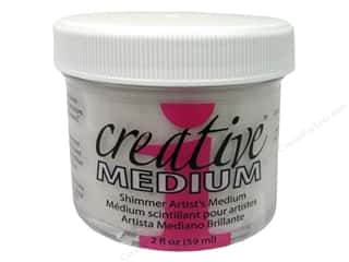 scrapbooking & paper crafts: Imagine Crafts Creative Medium Shimmer 2 oz