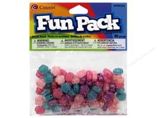 Weekly Specials Glitter: Cousin Bead Fun Pack Flower Multi Glitter 80pc