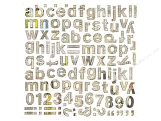 alphabet stickers: BasicGrey Alphabet Stickers Lucille