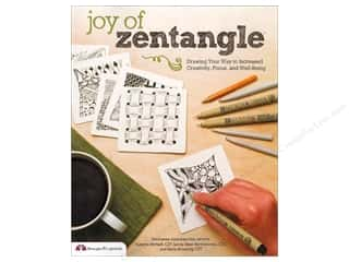 books & patterns: Joy of Zentangle: Drawing Your Way to Increased Creativity, Focus, and Well-Being by Marie Browning  and Suzanne McNeill
