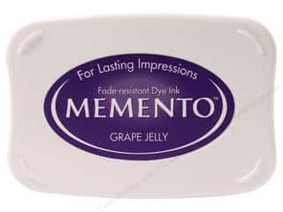 Tsukineko Memento Dye Ink Stamp Pad Grape Jelly
