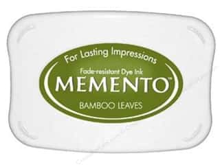 Tsukineko Memento Dye Ink Stamp Pad Bamboo Leaves