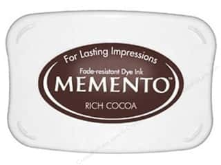 stamps: Tsukineko Memento Dye Ink Stamp Pad Rich Cocoa
